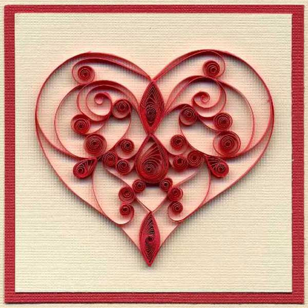 Heart Crafts For Adults  Inspiring Quilling Designs Paper Crafts and Unique Gift