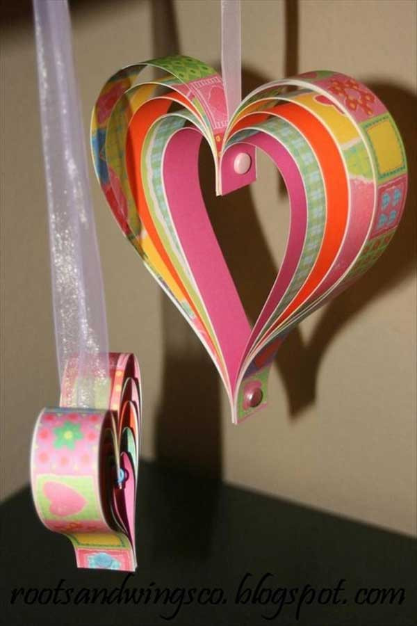 Heart Crafts For Adults  Top 35 Easy Heart Shaped DIY Crafts For Valentines Day