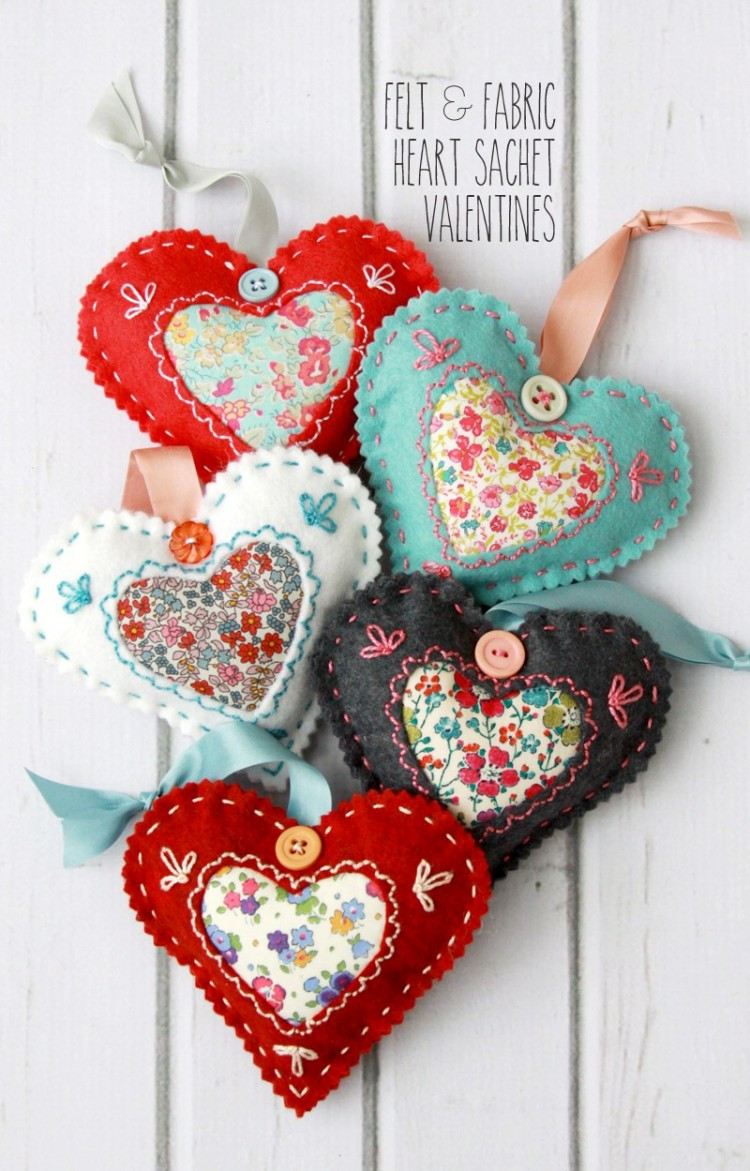 Heart Crafts For Adults  12 Scrap Busting Projects for Valentine s Day