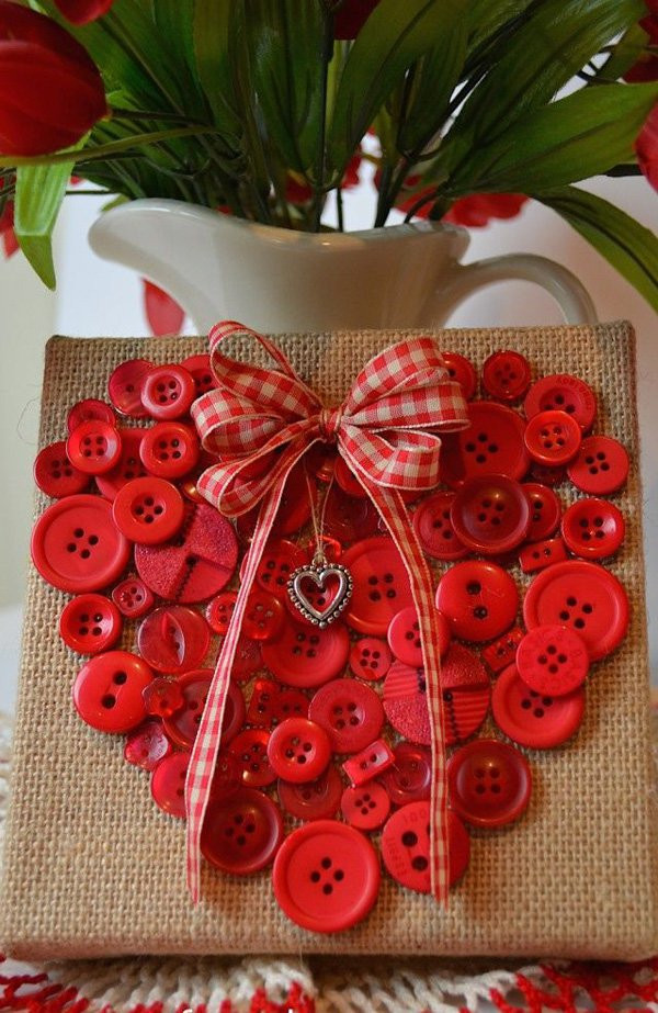 Heart Crafts For Adults  Lovable and stunning valentine day DIY craft photographs