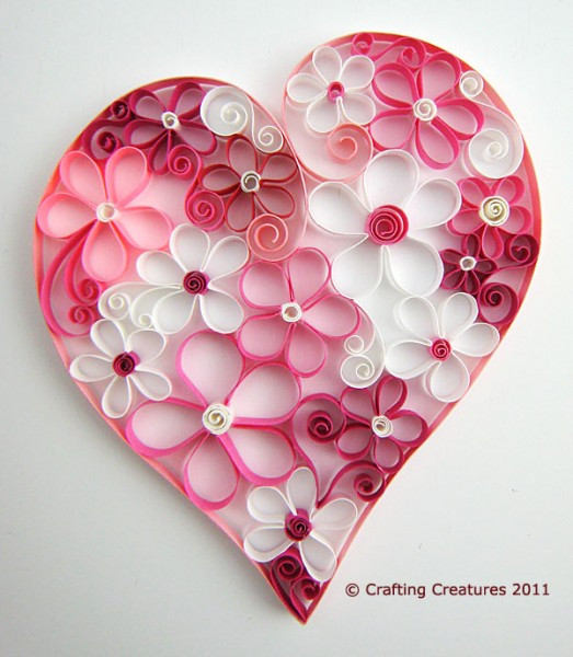 Heart Crafts For Adults  5 Very Cool Valentine Craft Projects