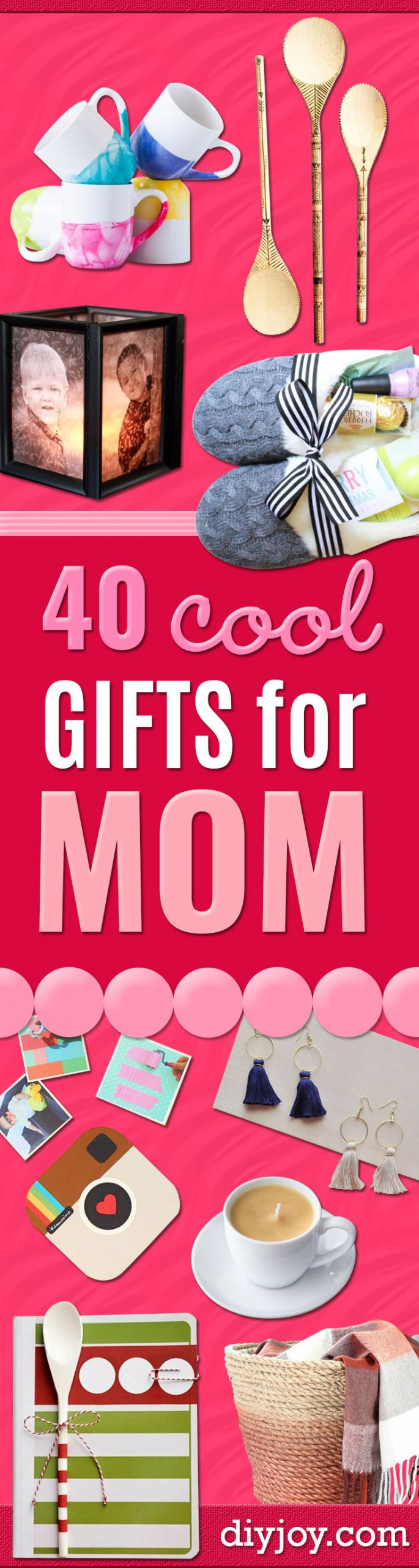 Holiday Gift Ideas For Mom  40 Coolest Gifts To Make for Mom