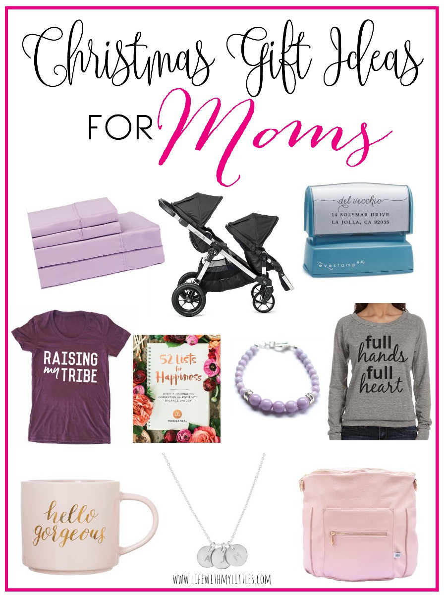 Holiday Gift Ideas For Mom  Christmas Gift Ideas for Moms Life With My Littles