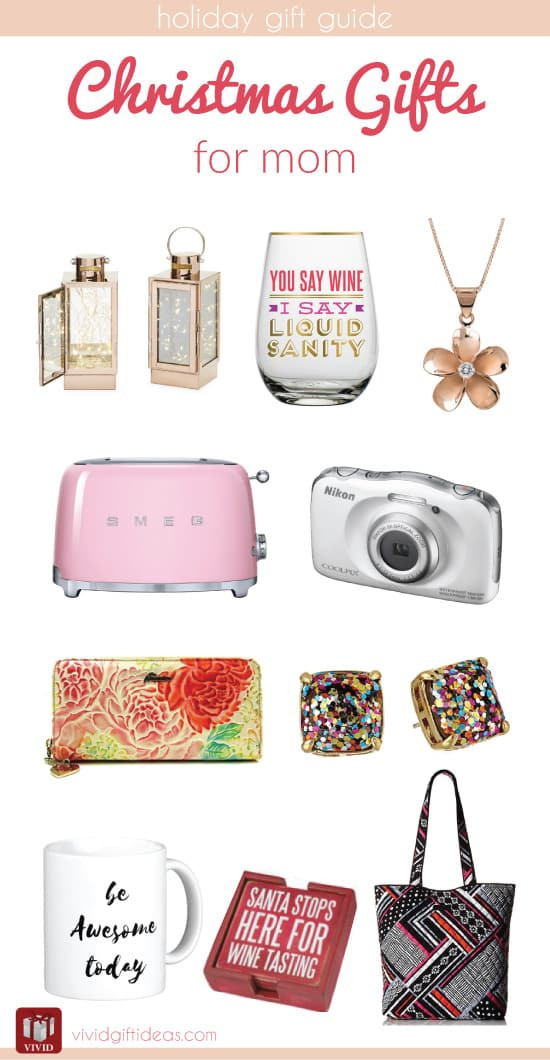 Holiday Gift Ideas For Mom  Christmas Holiday Gift Guide for Mom Vivid s Gift Ideas