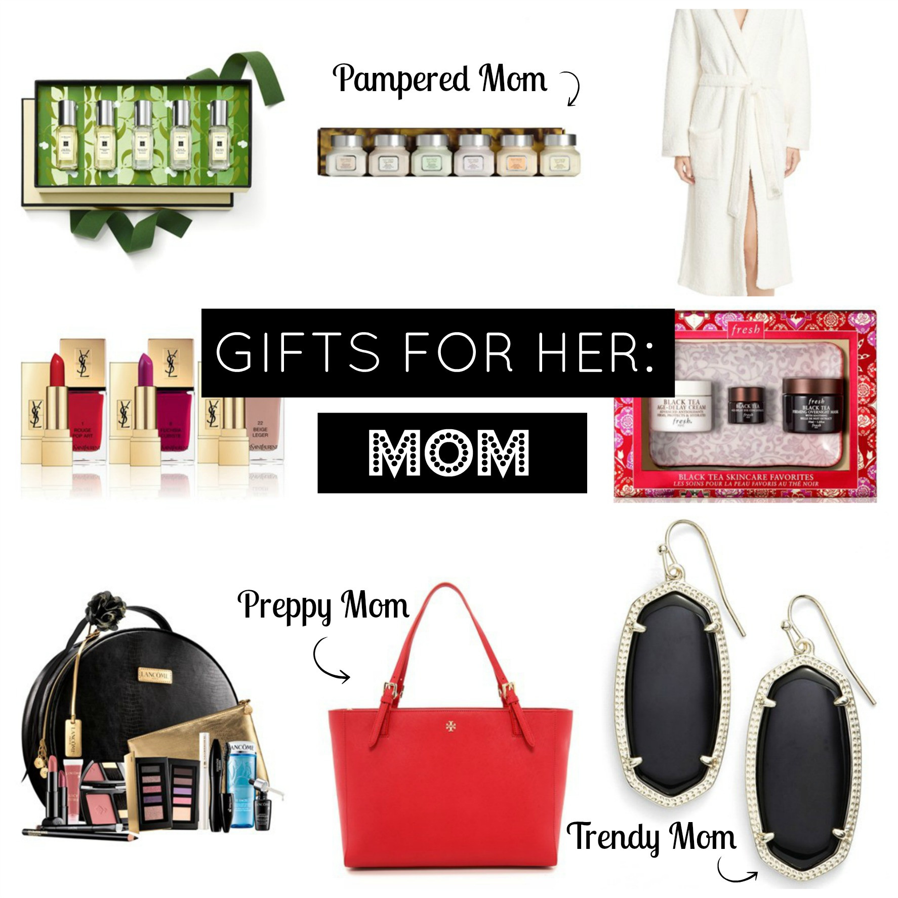 Holiday Gift Ideas For Mom  Holiday Gift Guide Gifts for Mom Airelle Snyder