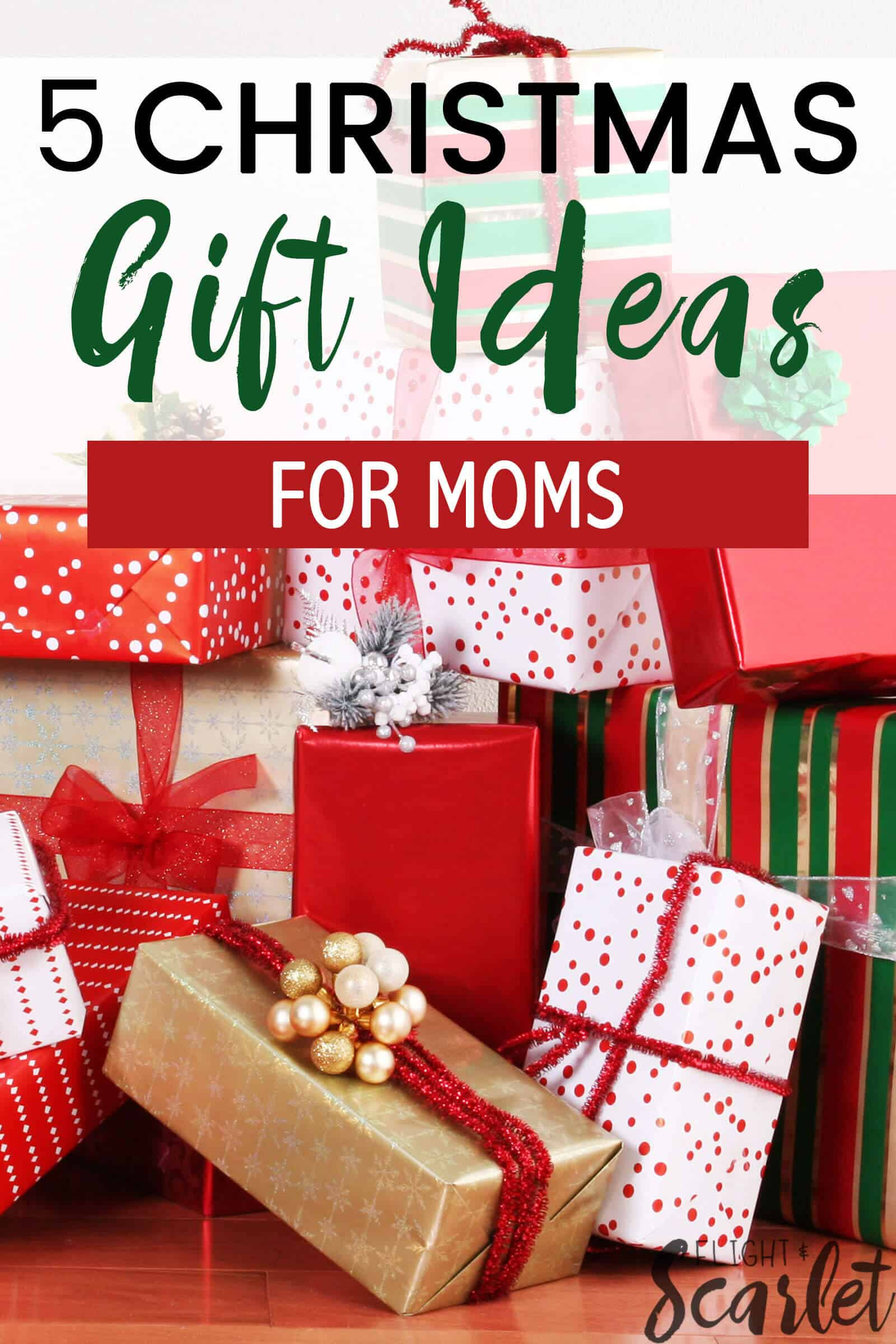 Holiday Gift Ideas For Mom  5 Bud Friendly Gift Ideas For Moms Flight & Scarlet