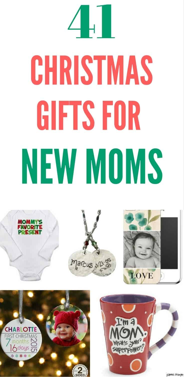Holiday Gift Ideas For Mom  Christmas Gifts for New Moms Top 20 Christmas Gift Ideas