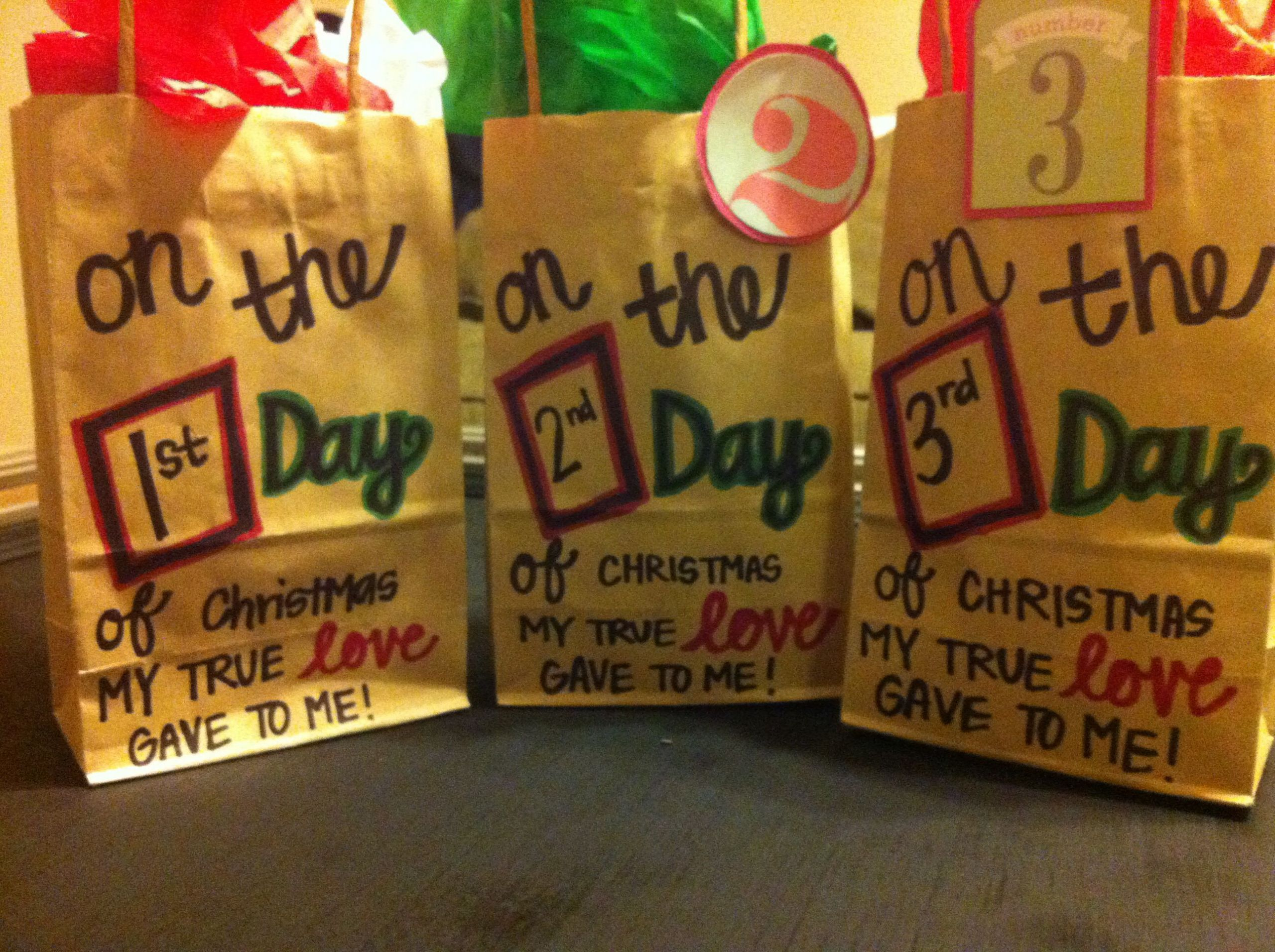 Holiday Gift Ideas Husband  12 days of Christmas for my husband to be