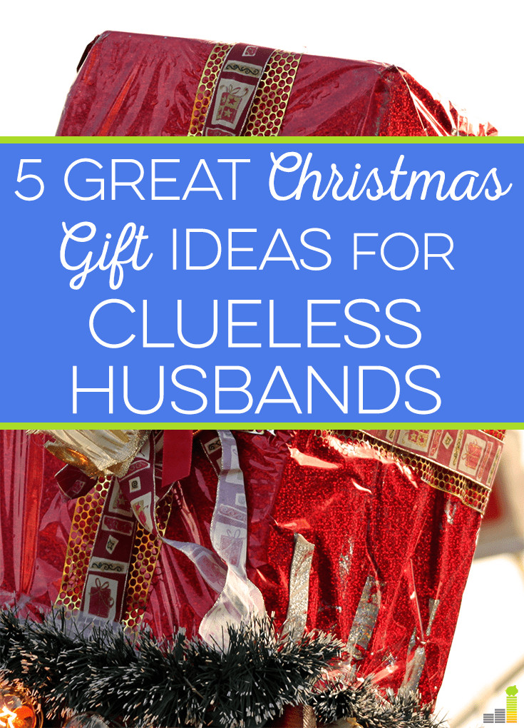 Holiday Gift Ideas Husband  5 Great Christmas Gift Ideas For Clueless Husbands