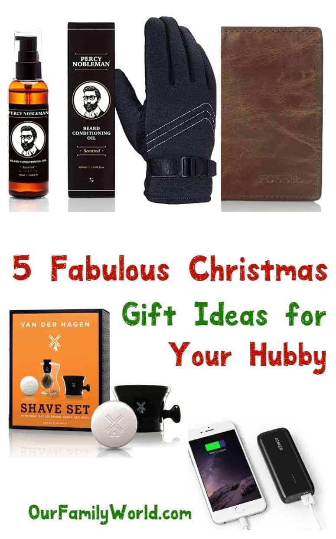 Holiday Gift Ideas Husband  5 Fabulous Christmas Gift Ideas for Husbands OurFamilyWorld