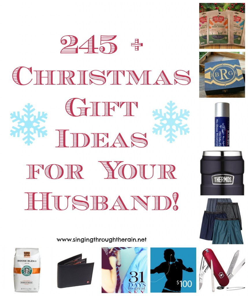 Holiday Gift Ideas Husband  245 Christmas Gift Ideas for Your Husband
