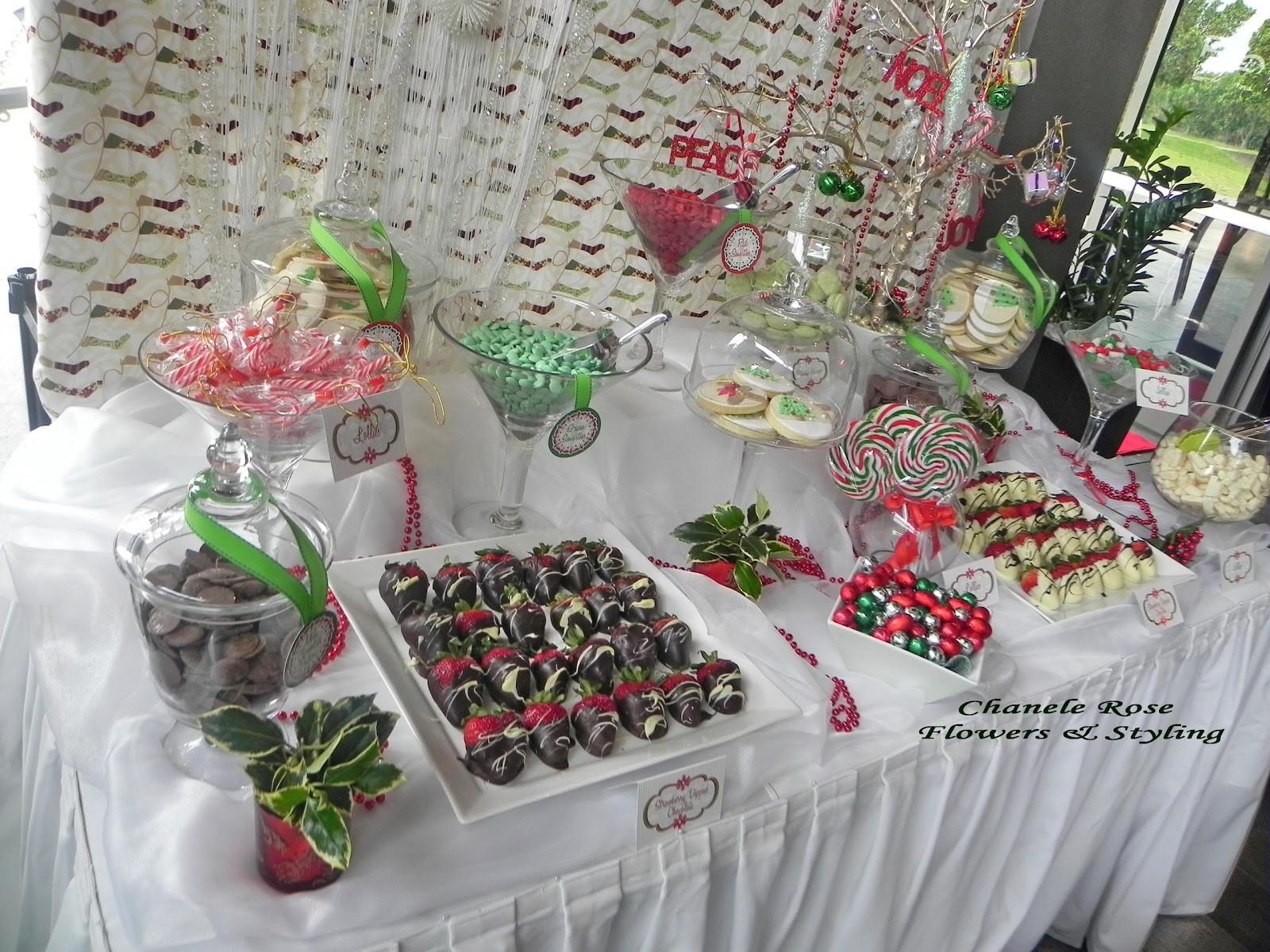 Holiday Party Decorating Ideas  Chanele Rose Flowers Blog Sydney Wedding stylist