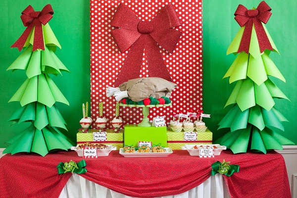 Holiday Party Decorating Ideas  DIY Christmas Party Decoration Ideas Pink Lover
