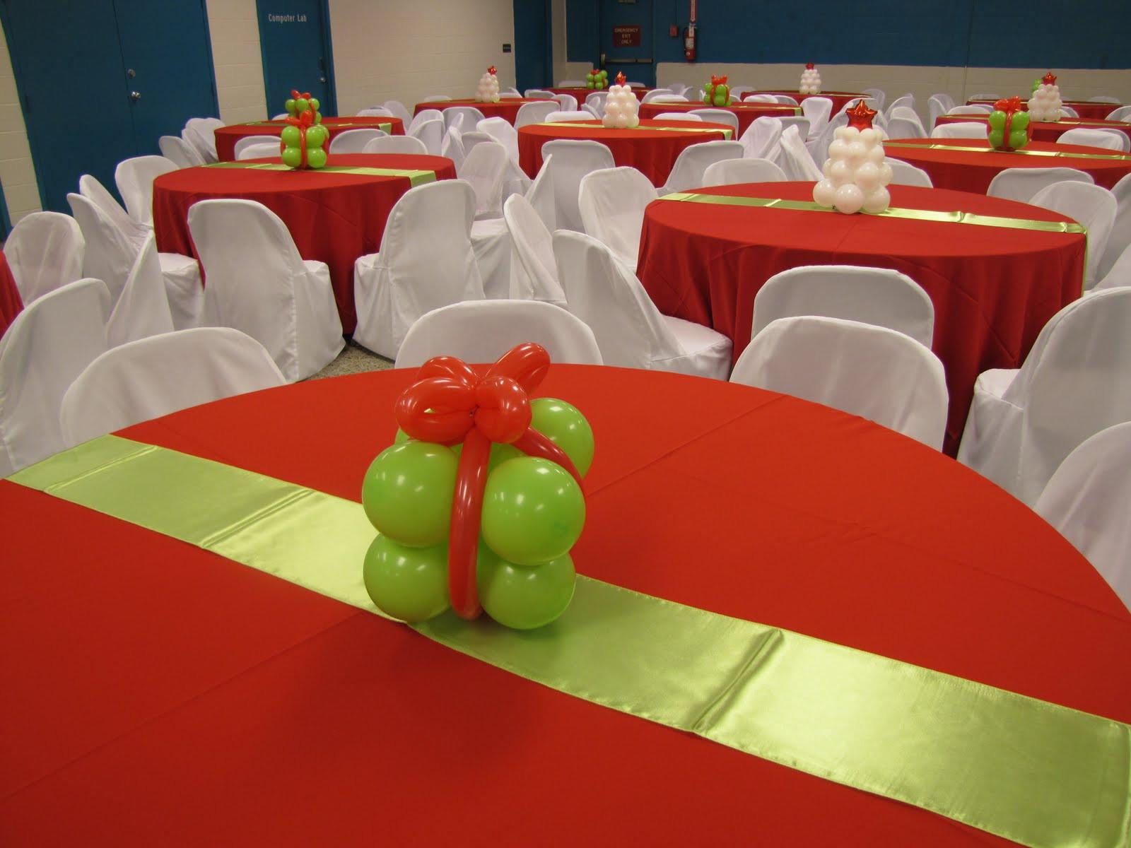 Holiday Party Decorating Ideas  Christmas Balloon Decor