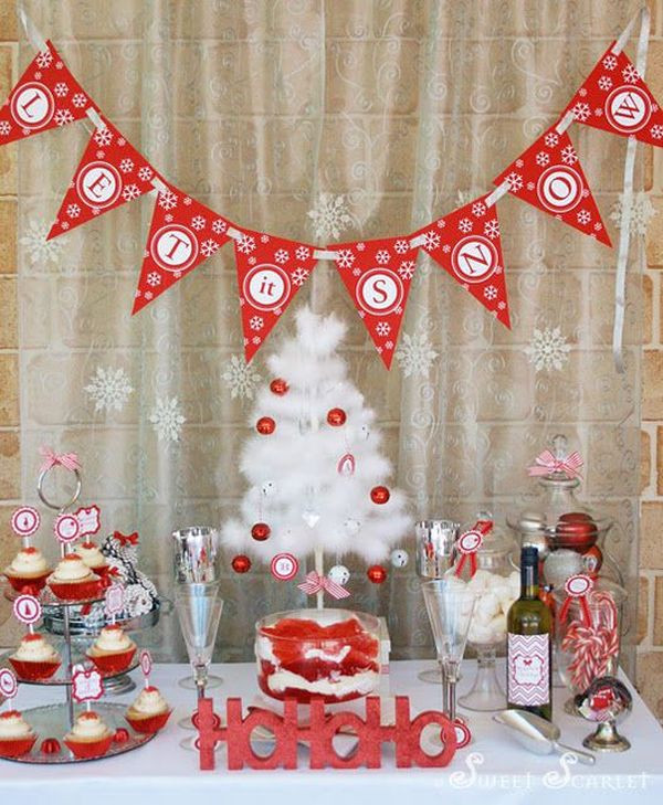 Holiday Party Decorating Ideas  23 Christmas Party Decorations That Are Never Naughty