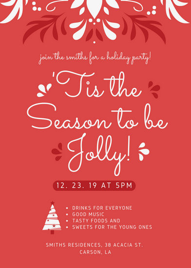 Holiday Party Flyer Ideas  Pastel Green Snow Winter Craft Fair Christmas Flyer