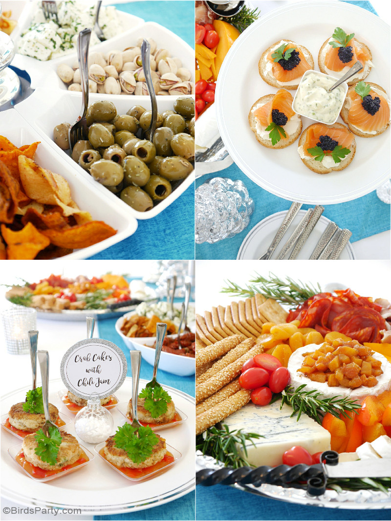 Holiday Party Recipe Ideas  Hosting a Holiday Cocktail & Appetizers Party Party