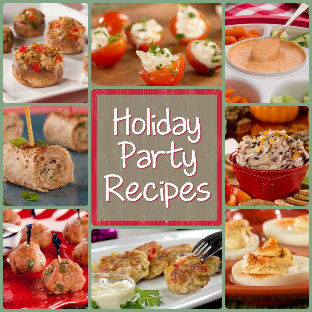 Holiday Party Recipe Ideas  Jolly Christmas Party Recipes 12 Holiday Party Recipes