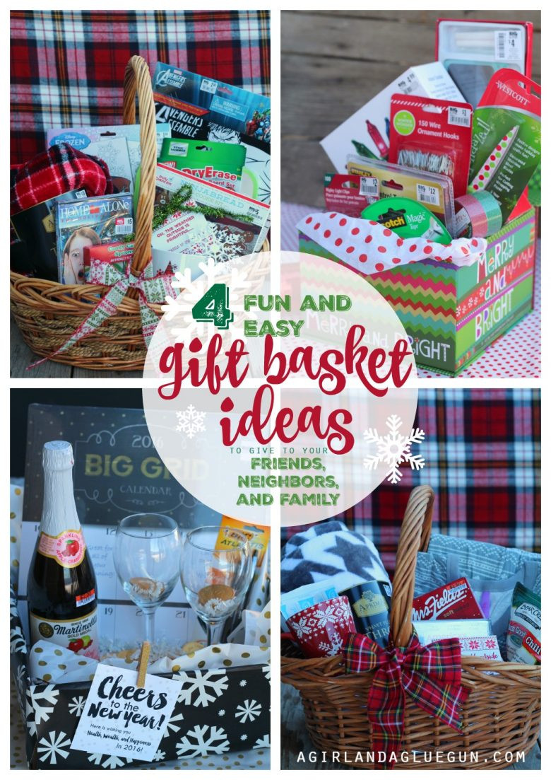 Holiday Safety Gift Ideas  4 fun and easy t basket ideas for Christmas A girl