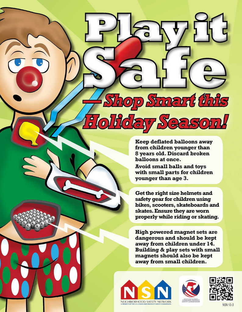 Holiday Safety Gift Ideas  Holiday Toy Safety