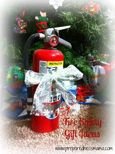 Holiday Safety Gift Ideas  Prepared for Christmas Fire Safety Gifts Preparedness Mama