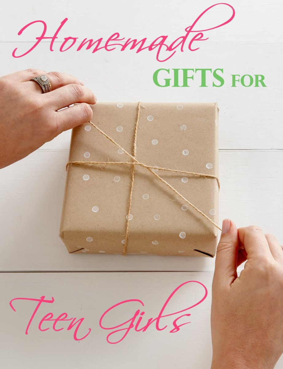 Homemade Gift Ideas For Girls  Fab Homemade Gifts for Teen Girls That Look Store Bought