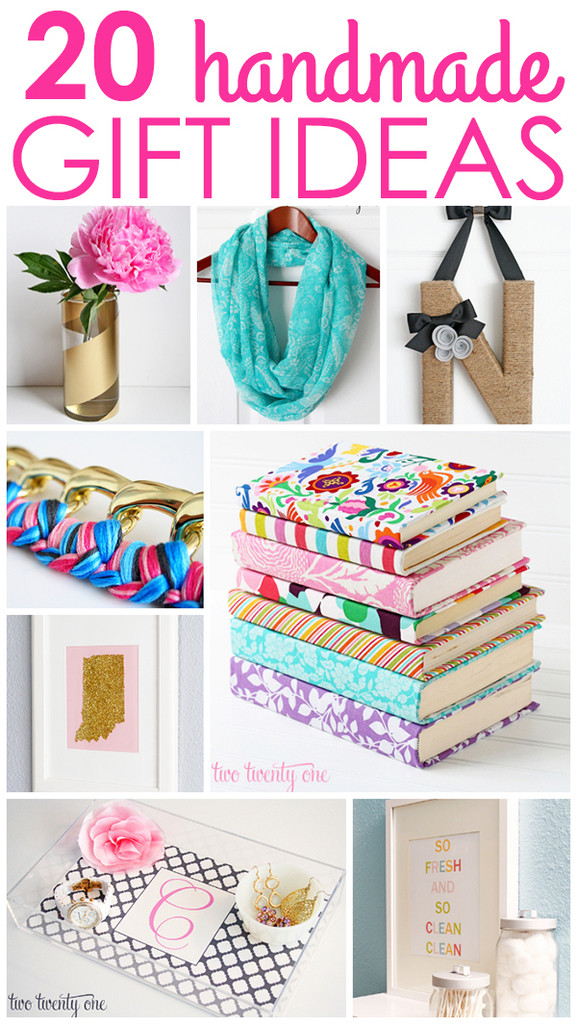 Homemade Gift Ideas For Girls  Handmade Gift 20 Ideas for Everyone on Your List