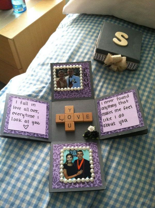 Homemade Gift Ideas Your Boyfriend  30 DIY Gifts For Boyfriend 2017