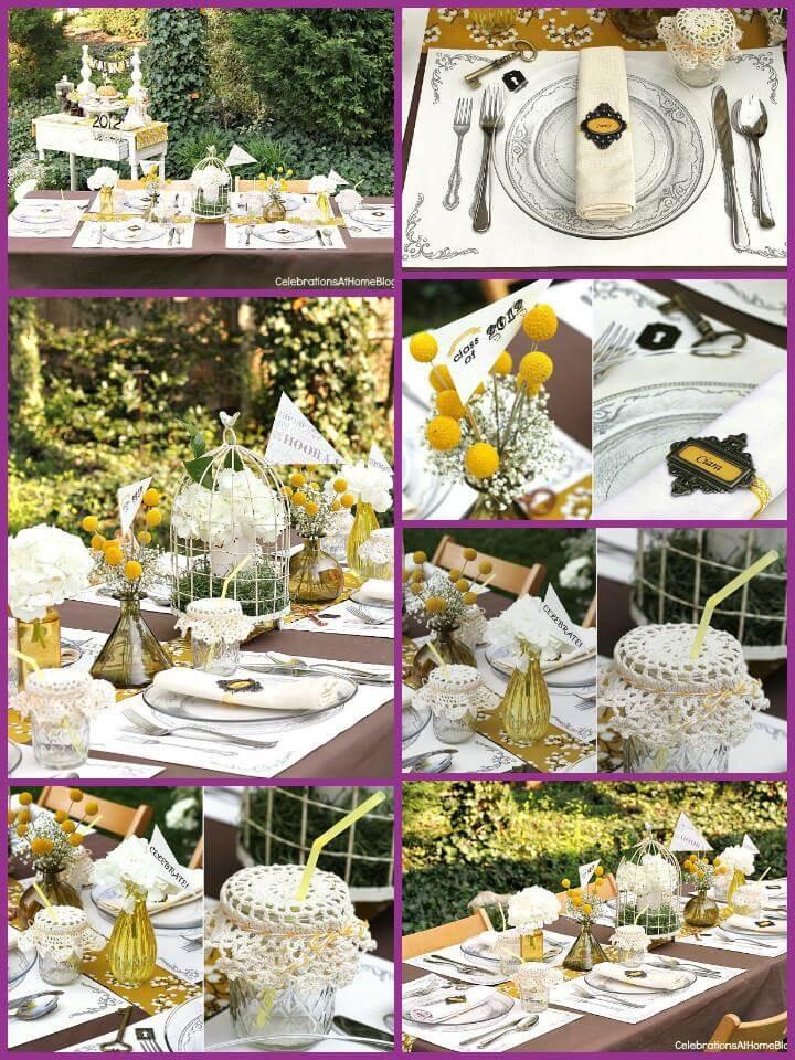 Homemade Graduation Party Decoration Ideas  50 DIY Graduation Party Decorations & Themes ⋆ DIY Crafts