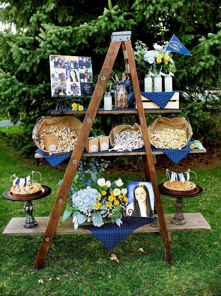 Homemade Graduation Party Decoration Ideas  Best 25 Outdoor graduation parties ideas on Pinterest