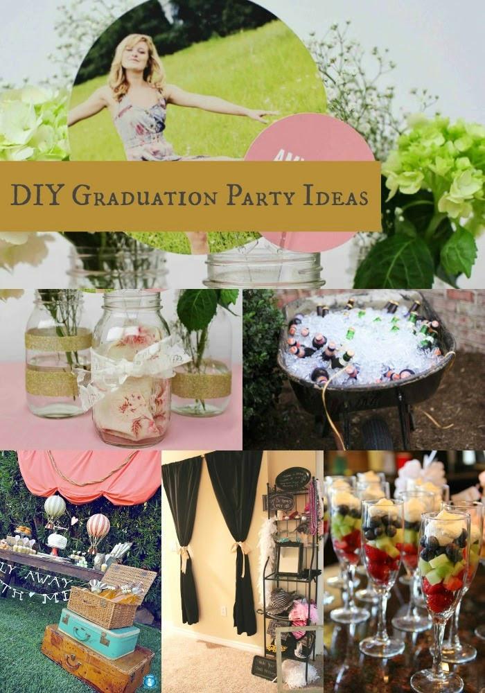 Homemade Graduation Party Decoration Ideas  Goodwill Tips DIY Graduation Party Ideas