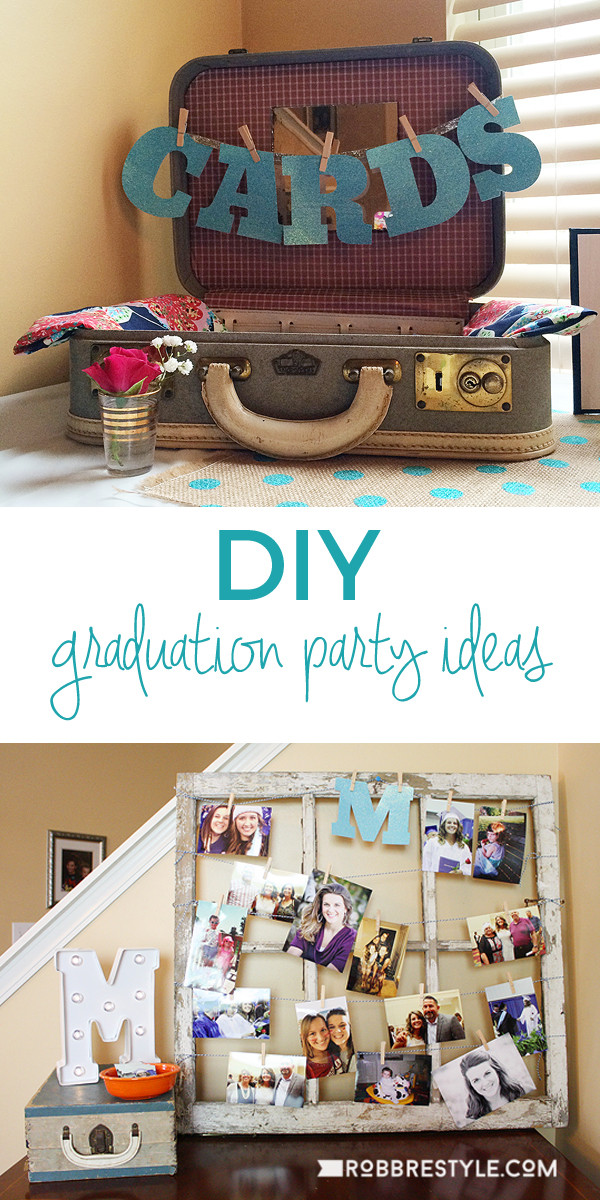 Homemade Graduation Party Decoration Ideas  DIY Graduation Party Ideas