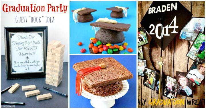 Homemade Graduation Party Decoration Ideas  50 DIY Graduation Party Ideas & Decorations DIY & Crafts