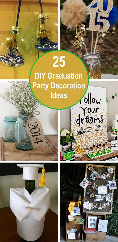 Homemade Graduation Party Decoration Ideas  25 DIY Graduation Party Decoration Ideas