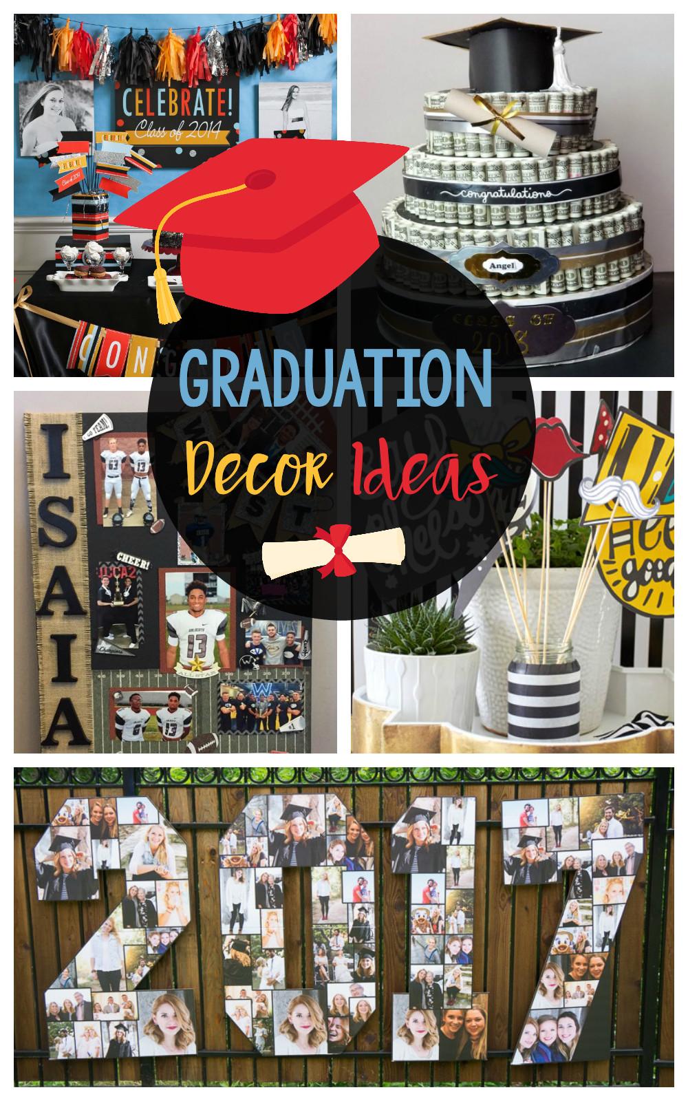 Homemade Graduation Party Decoration Ideas  Fun DIY Graduation Decorations – Fun Squared