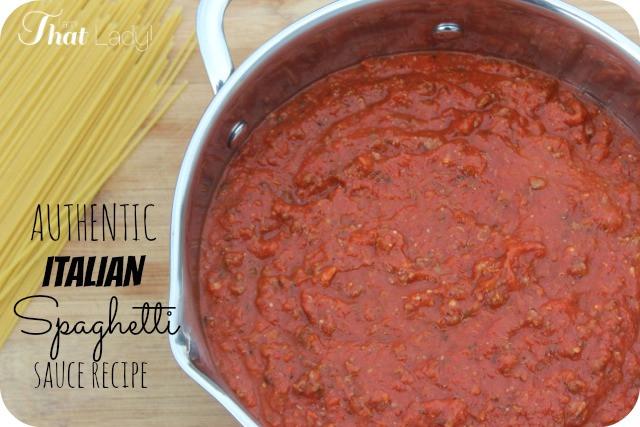 Homemade Spaghetti Sauce From Fresh Tomatoes Real Italian  BEST EVER Homemade Italian Spaghetti Sauce Recipe