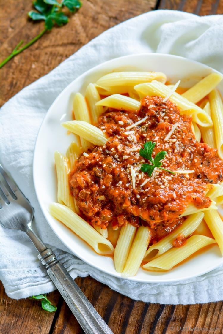 Homemade Spaghetti Sauce From Fresh Tomatoes Real Italian  Best Homemade Tomato Sauce from Scratch Recipe