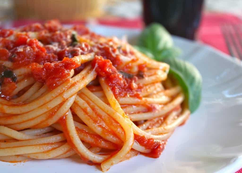 Homemade Spaghetti Sauce From Fresh Tomatoes Real Italian  Authentic Quick Italian Tomato Sauce for Pasta
