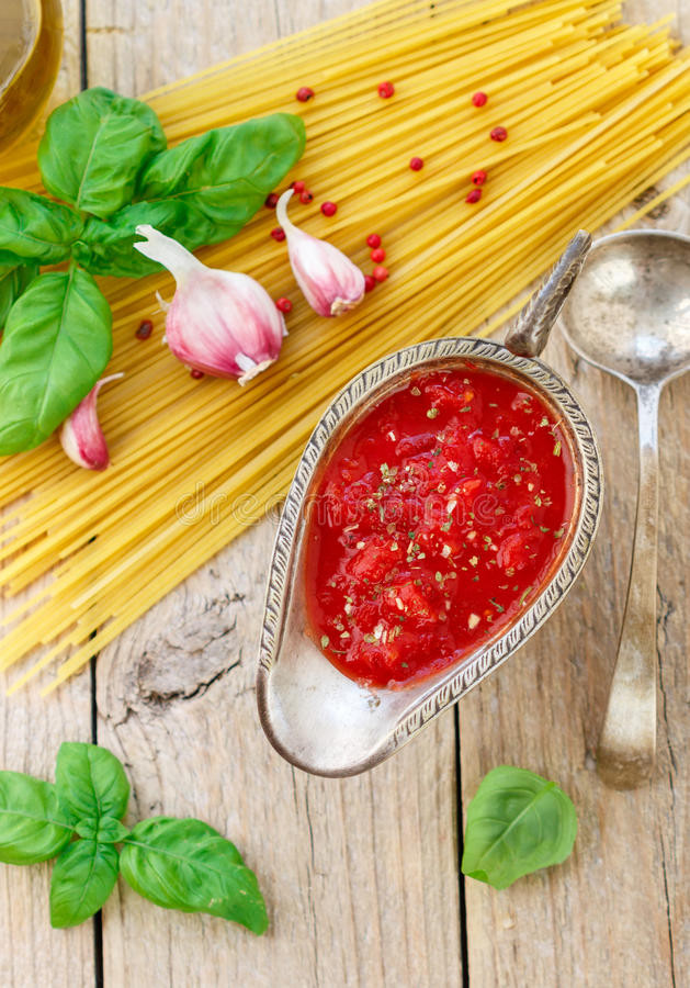 Homemade Spaghetti Sauce From Fresh Tomatoes Real Italian  Homemade Tomato Sauce For Pasta And Meat From Fresh