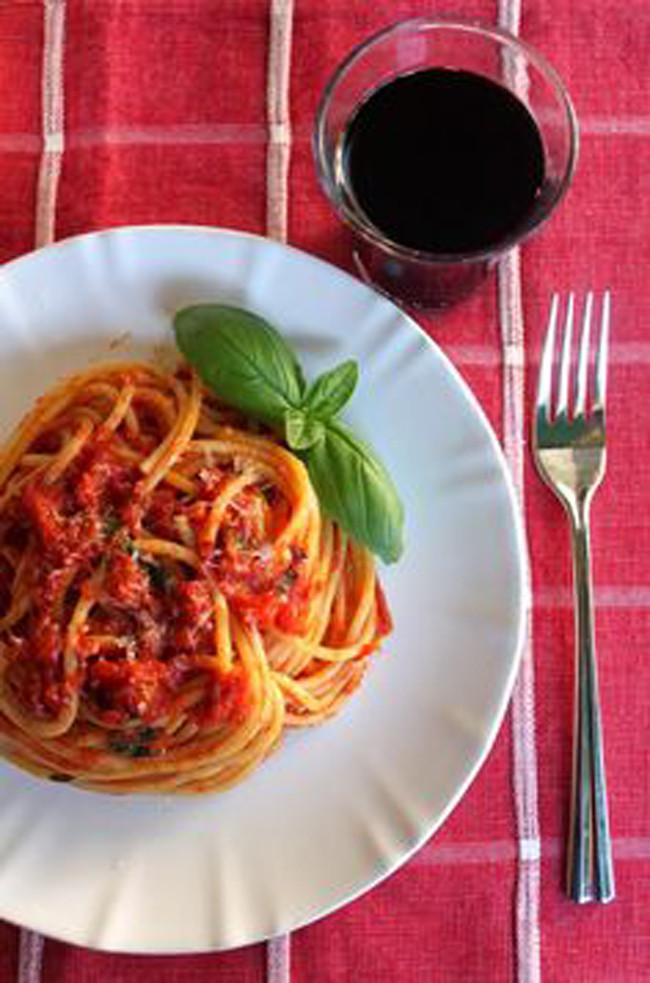 Homemade Spaghetti Sauce From Fresh Tomatoes Real Italian  15 Authentic Italian Recipes My Life and Kids