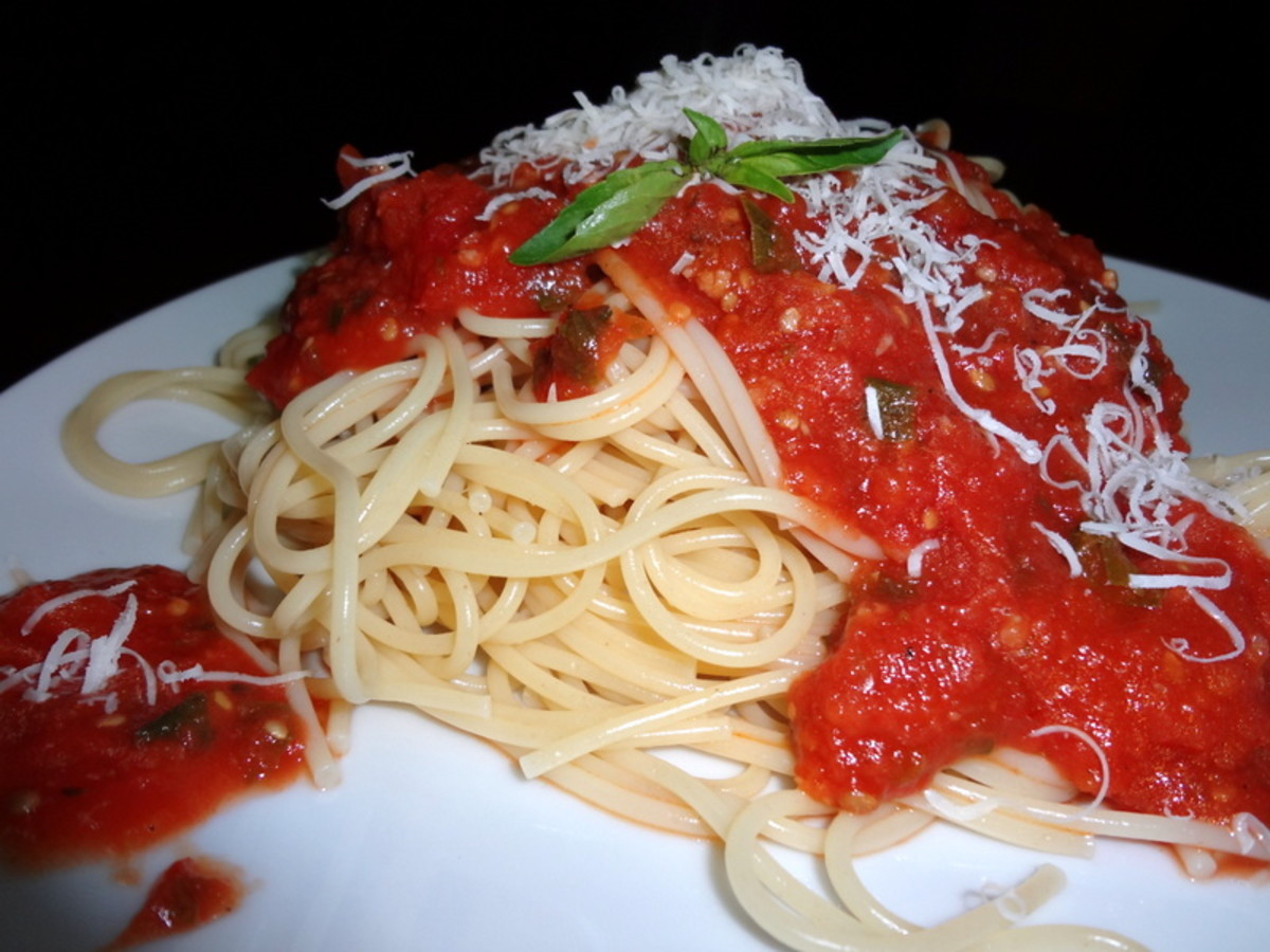 Homemade Spaghetti Sauce From Fresh Tomatoes Real Italian  Best Homemade Spaghetti Sauce Recipe From Fresh or Canned