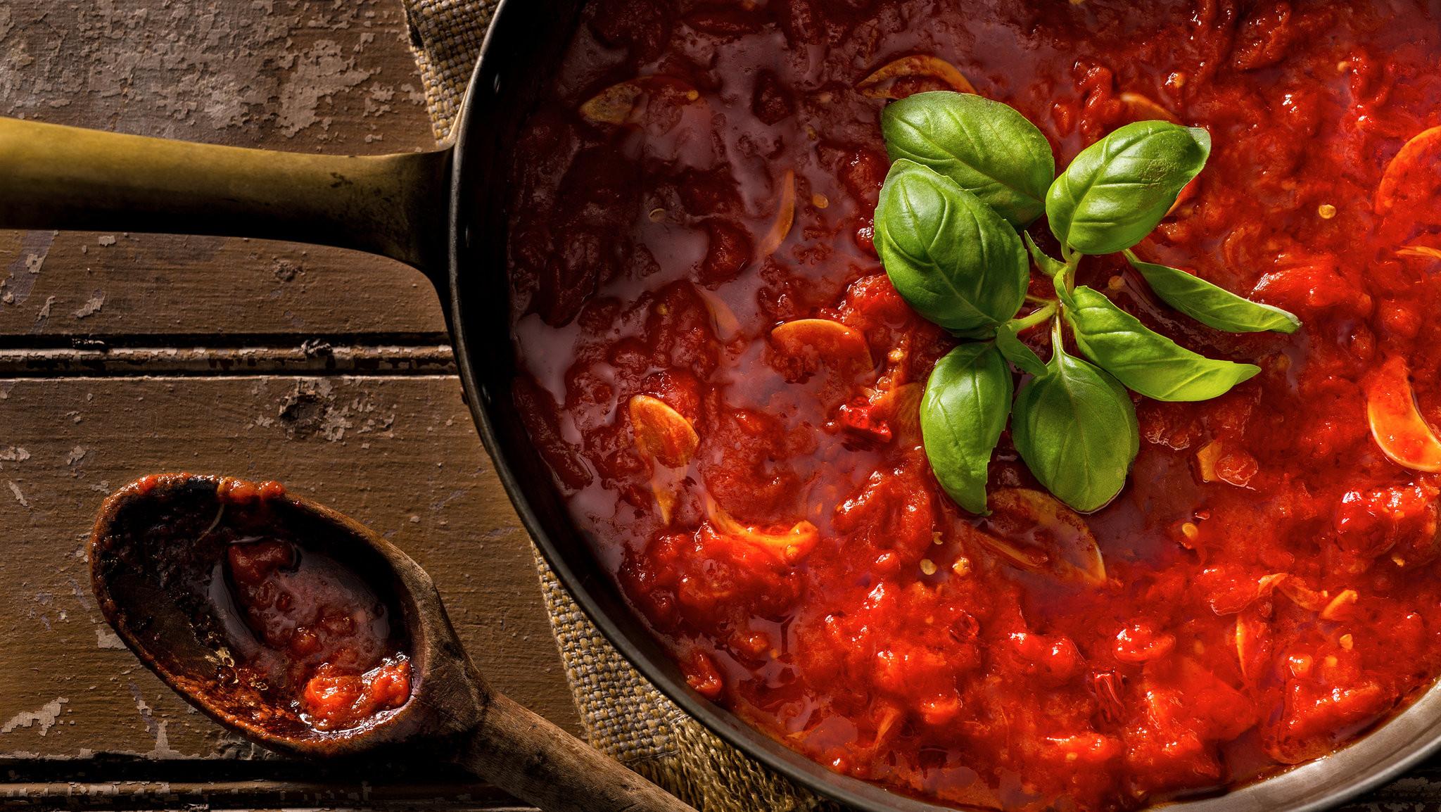 Homemade Spaghetti Sauce From Fresh Tomatoes Real Italian  Classic Marinara Sauce Recipe NYT Cooking
