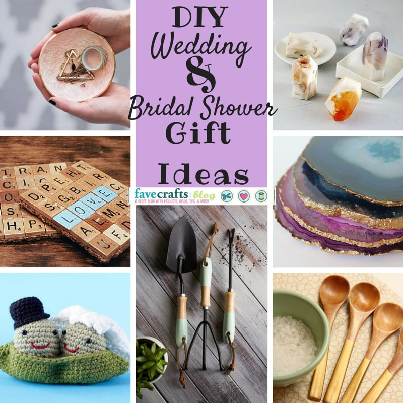 Homemade Wedding Gifts  10 DIY Wedding Gifts Any Bride to Be Will Love FaveCrafts