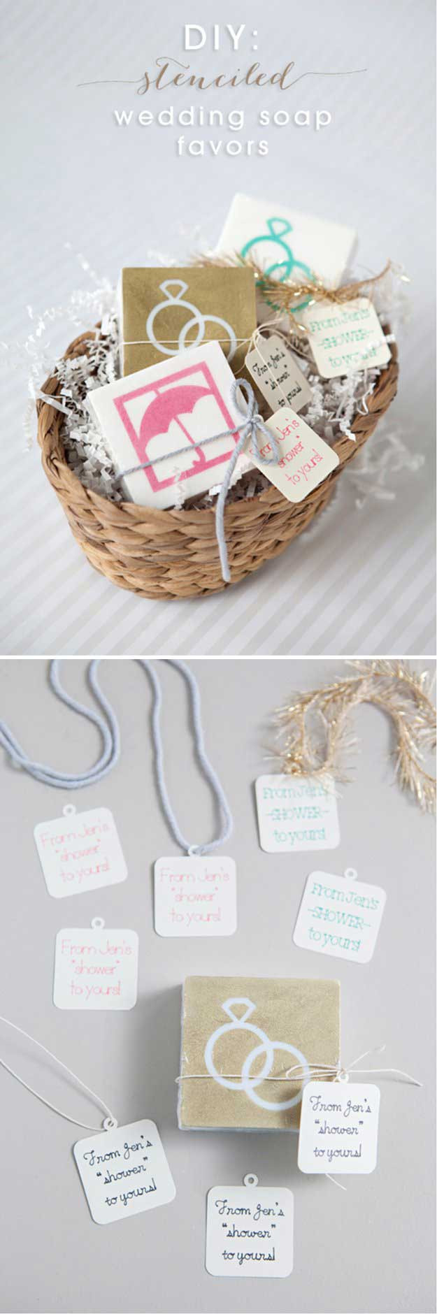 Homemade Wedding Gifts  17 Wedding Favor bags Ideas to Save Money