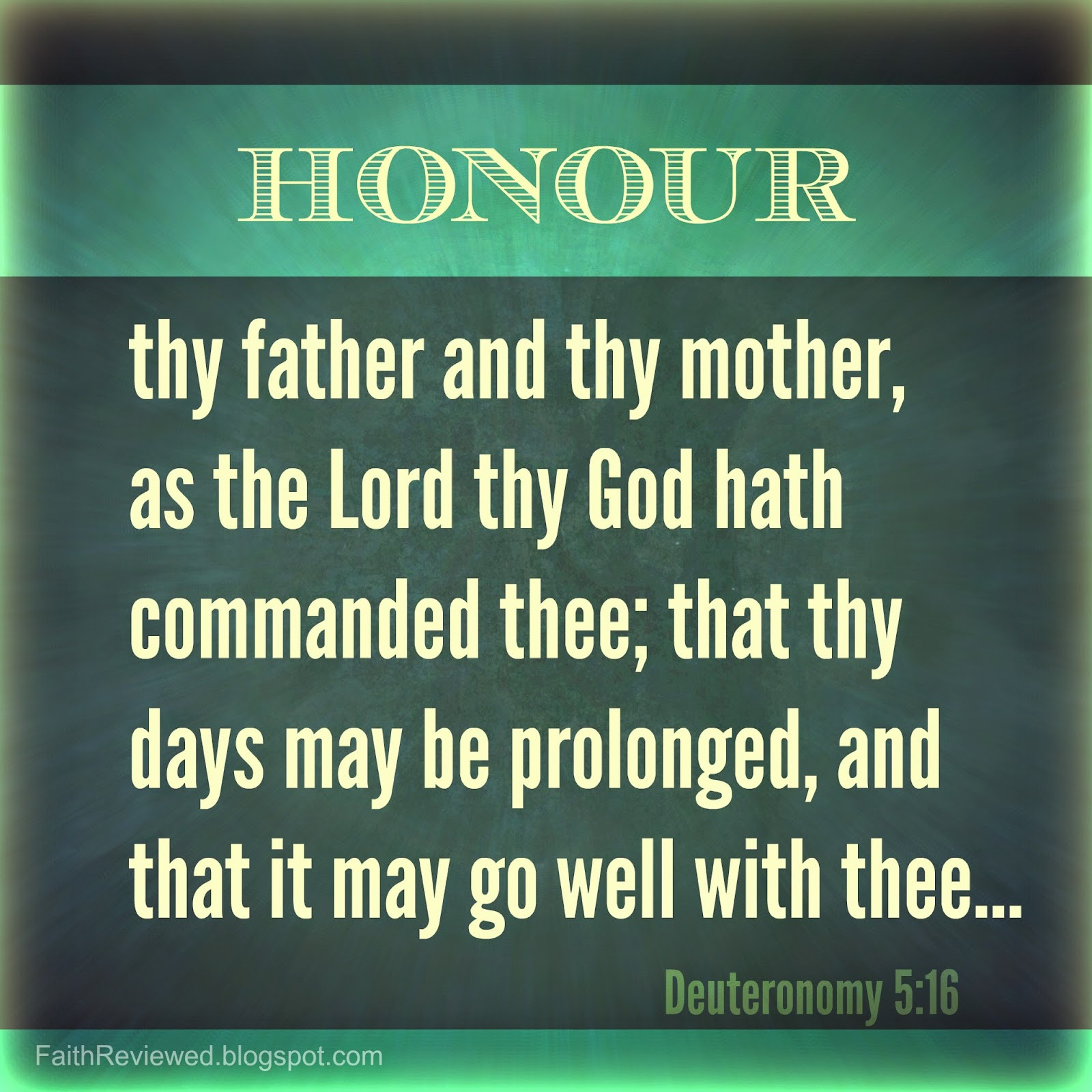 Honor Thy Mother Quotes  Faith Reviewed January 2015