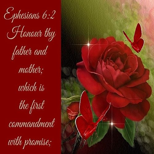 Honor Thy Mother Quotes  Honoring Your Parents Ephesians 6 2