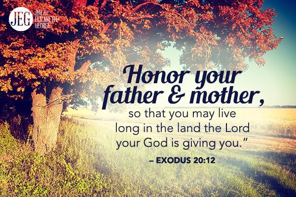 Honor Thy Mother Quotes  As a Christian you are to honor your parents and you are