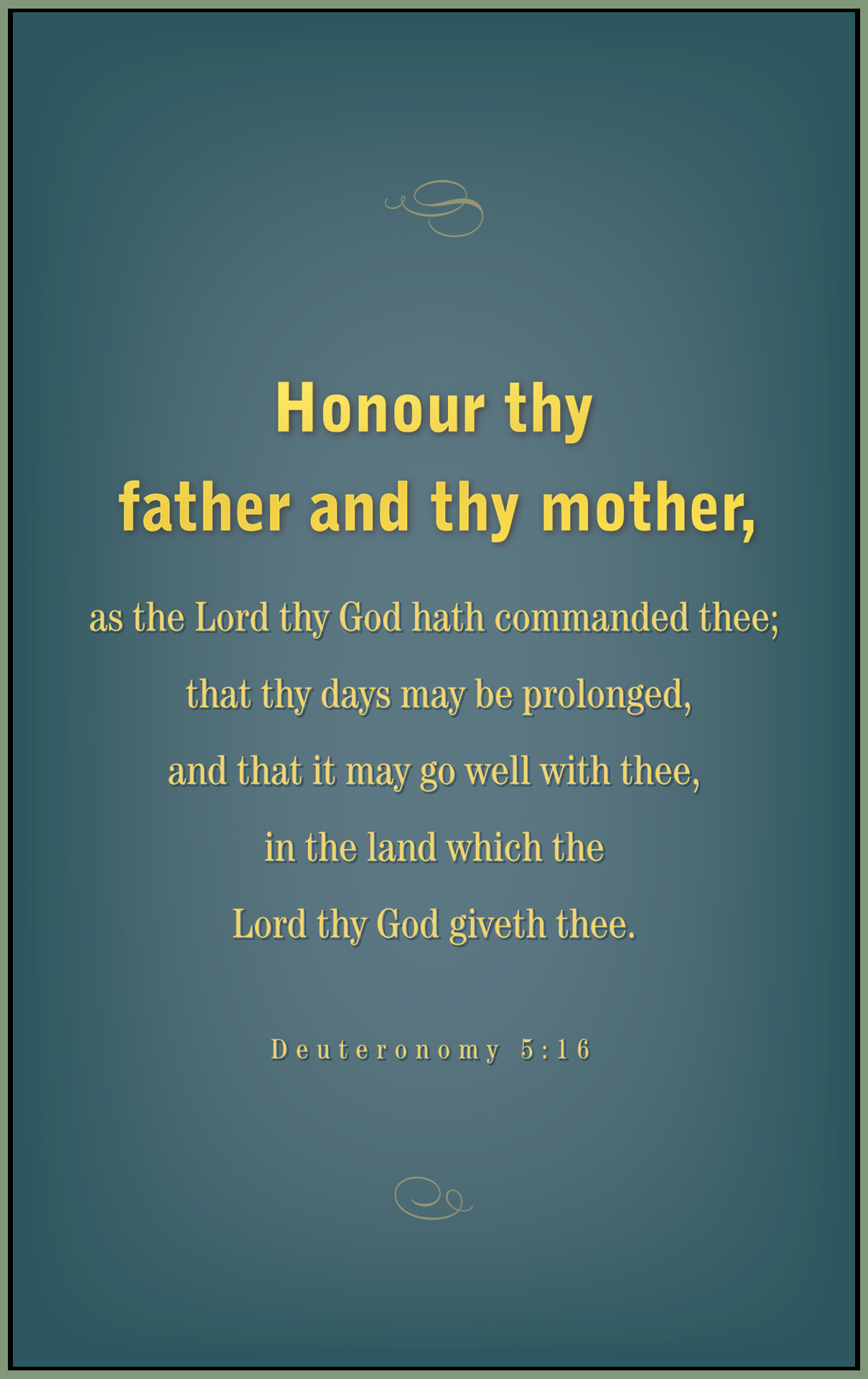Honor Thy Mother Quotes  Honor thy father and thy mother It is a mandment