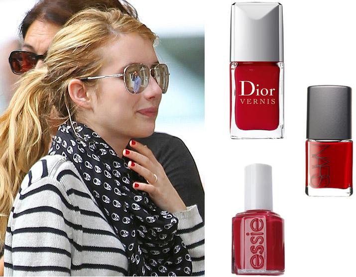 Hottest Nail Colors  The Hottest Winter Nail Polish Colors