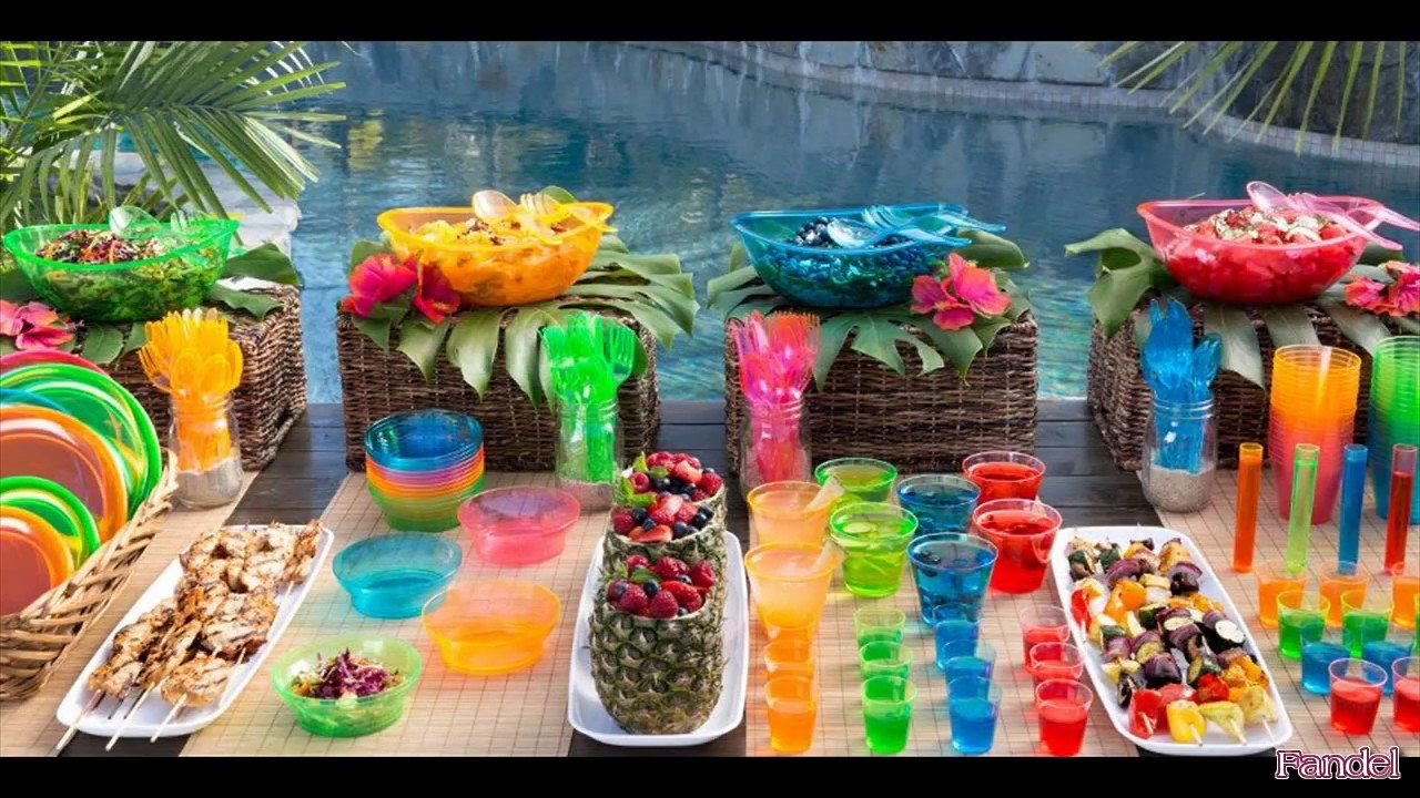 Ideas For A Beach Party  Beach Party Decoration Ideas for Adults